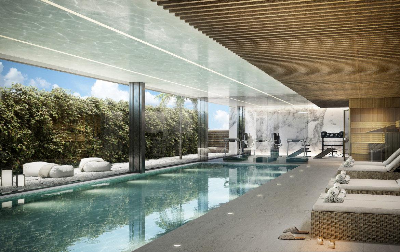 ikkil bay estepona costa del sol eerstelijns strand luxe appartement te koop zeezicht kleinschalig spa