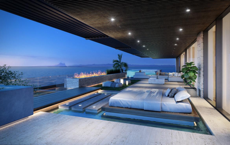 ikkil bay estepona costa del sol eerstelijns strand luxe appartement te koop zeezicht kleinschalig