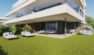 symphony suites cancelada estepona costa del sol spanje appartement nieuwbouw kopen modern zeezicht golf strand gelijkvloers
