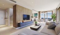 symphony suites cancelada estepona costa del sol spanje appartement nieuwbouw kopen modern zeezicht golf strand salon