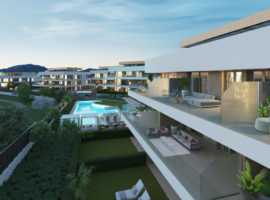 symphony suites cancelada estepona costa del sol spanje appartement nieuwbouw kopen modern zeezicht golf strand terras