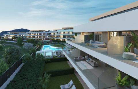Symphony Suites: nieuwbouw met panoramisch zeezicht in Cancelada