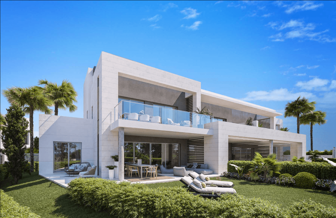 treetops marbella guadalmina nieuwbouw huis kopen concierge zeezicht tuin