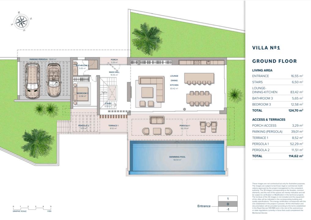 vista lago residences marbella luxe villa grondplan gelijkvloers