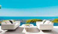 vista lago residences real la quinta nueva andalucia marbella costa del sol spanje villa kopen zeezicht nieuwbouw lounge