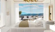 vista lago residences real la quinta nueva andalucia marbella costa del sol spanje villa kopen zeezicht nieuwbouw master bed