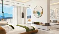 vista lago residences real la quinta nueva andalucia marbella costa del sol spanje villa kopen zeezicht nieuwbouw master suite