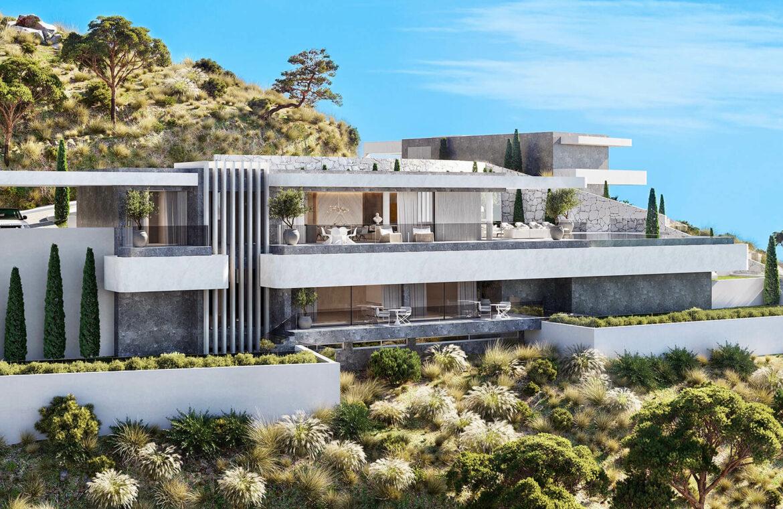 vista lago residences real la quinta nueva andalucia marbella costa del sol spanje villa kopen zeezicht nieuwbouw project