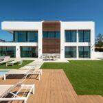 villa imare new golden mile estepona costa del sol spanje eerstelijns zee strand nieuwbouw villa grondplan villa