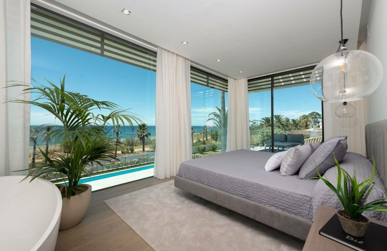 villa imare new golden mile estepona costa del sol spanje eerstelijns zee strand nieuwbouw villa design