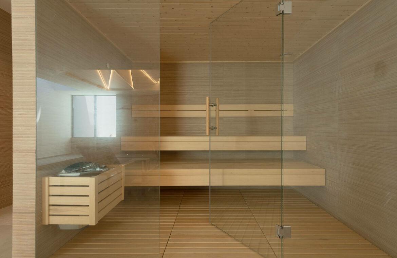 villa imare new golden mile estepona costa del sol spanje eerstelijns zee strand nieuwbouw villa grondplan sauna