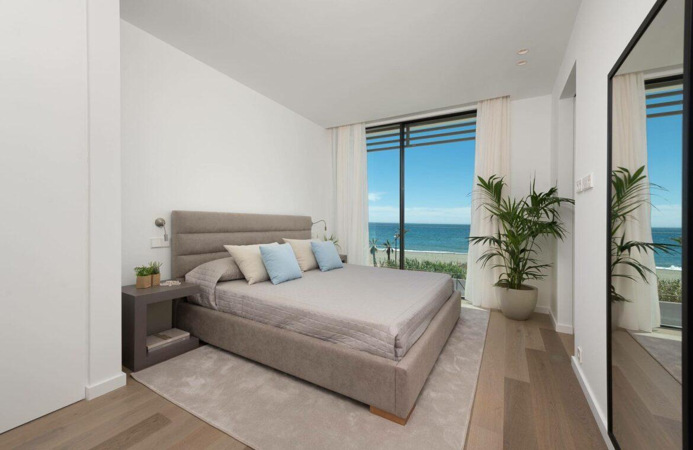 villa imare new golden mile estepona costa del sol spanje eerstelijns zee strand nieuwbouw villa grondplan slaap
