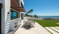 villa imare new golden mile estepona costa del sol spanje eerstelijns zee strand nieuwbouw villa grondplan zeezicht