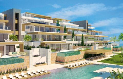 Infinity: appartementen met prive zwembad aan de golf in Benahavis