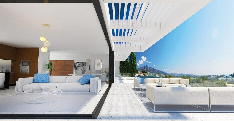 infinity mirador del paraiso benahavis nieuwbouw appartement te koop resort gym zwembad zee costa del sol golf terras