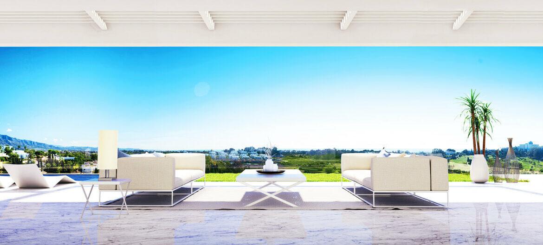 infinity mirador del paraiso benahavis nieuwbouw appartement te koop resort gym zwembad zee costa del sol golf tuin