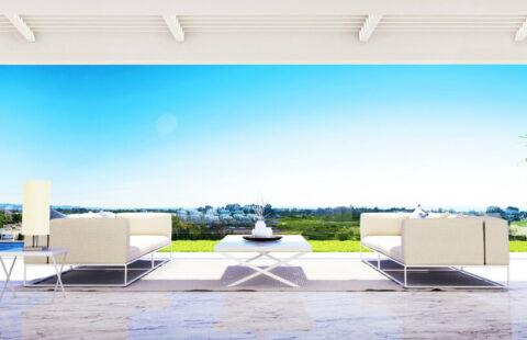 Infinity: penthouses met prive zwembad aan de golf in Benahavis