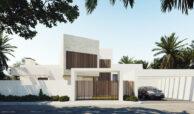 village mirador del paraiso benahavis nieuwbouw villa te koop resort zwembad zee costa del sol golf 44 oprit