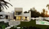 village mirador del paraiso benahavis nieuwbouw villa te koop resort zwembad zee costa del sol golf 44 tuin
