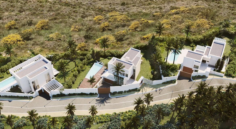village mirador del paraiso benahavis nieuwbouw villa te koop resort zwembad zee costa del sol golf 47 48 49