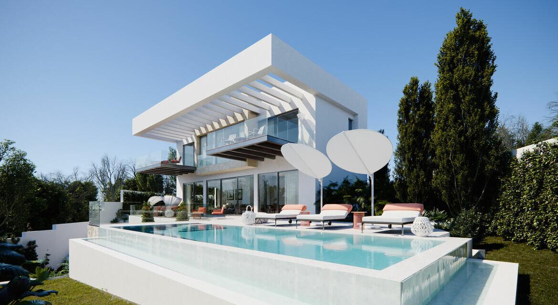 village mirador del paraiso benahavis nieuwbouw villa te koop resort zwembad zee costa del sol golf 47 modern