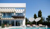 village mirador del paraiso benahavis nieuwbouw villa te koop resort zwembad zee costa del sol golf 47 terras