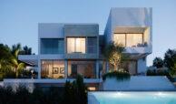 village mirador del paraiso benahavis nieuwbouw villa te koop resort zwembad zee costa del sol golf 48 tuin