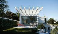village mirador del paraiso benahavis nieuwbouw villa te koop resort zwembad zee costa del sol golf 49 modern