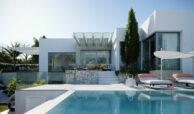 village mirador del paraiso benahavis nieuwbouw villa te koop resort zwembad zee costa del sol golf 49 terras