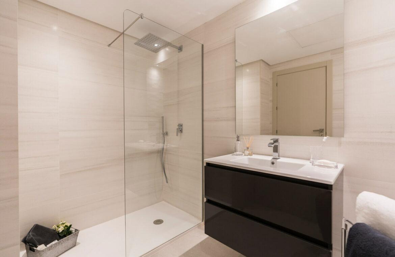 Harmony nieuwbouw appartementen la cala golf mijas costa del sol spanje zeezicht modern badkamer
