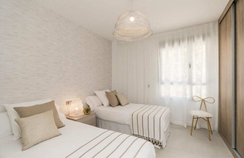 Harmony nieuwbouw appartementen la cala golf mijas costa del sol spanje zeezicht modern gastenkamer