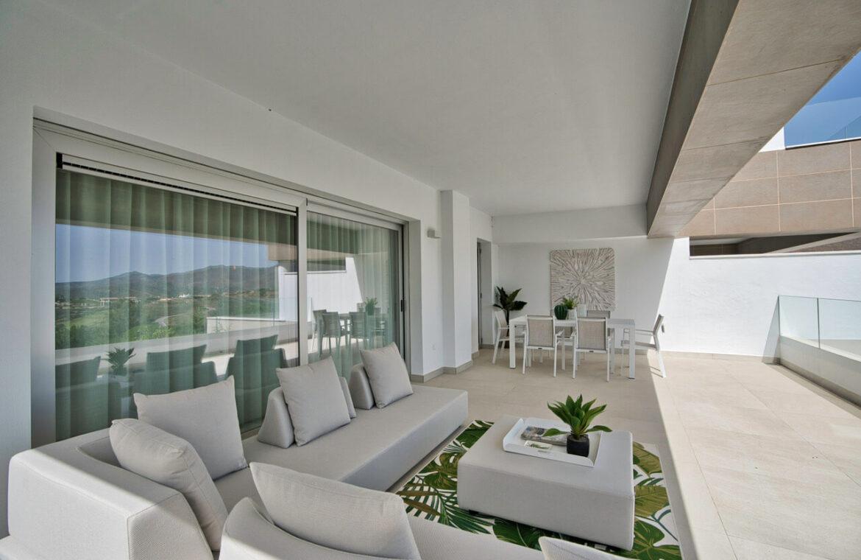 Harmony nieuwbouw appartementen la cala golf mijas costa del sol spanje zeezicht modern open terras