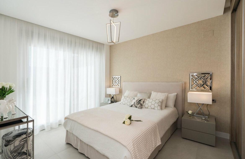 Harmony nieuwbouw appartementen la cala golf mijas costa del sol spanje zeezicht modern slaapkamer