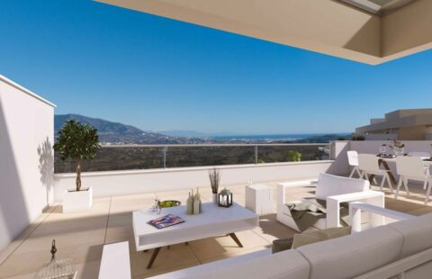 Harmony: penthouses met panoramische zichten in La Cala Golf Resort