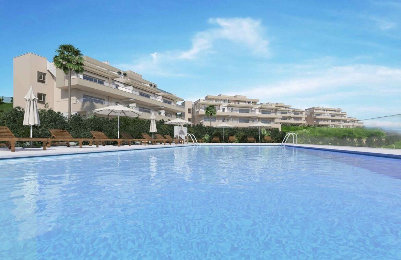 Harmony nieuwbouw appartementen la cala golf mijas costa del sol spanje zeezicht modern zwembad