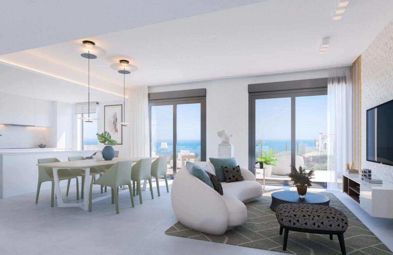 quintessence los monteros marbella spanje costa del sol nieuwbouw zeezicht luxe spa zwembad vamoz living