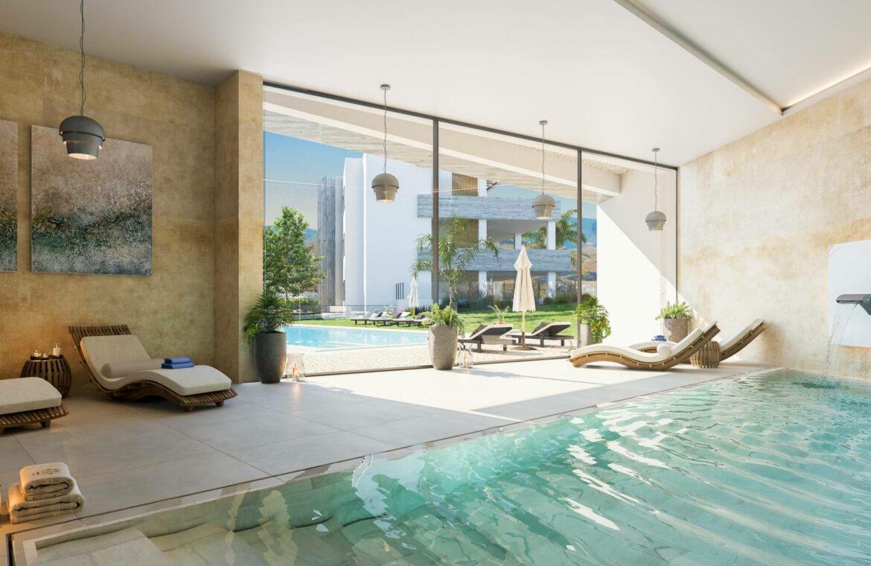 quintessence los monteros marbella spanje costa del sol nieuwbouw zeezicht luxe spa zwembad vamoz zwembad