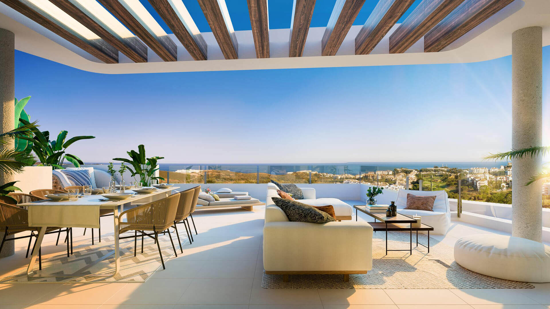 ipanema calanova golf la cala spanje costa del sol nieuwbouw appartement zeezicht penthouse