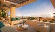 ipanema calanova golf la cala spanje costa del sol nieuwbouw appartement zeezicht terras