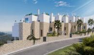 grand view marbella la quinta golf nueva andalucia spanje costa del sol nieuwbouw exclusief luxe gevel