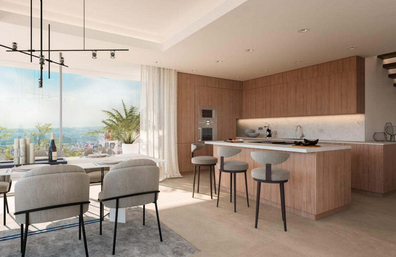 grand view marbella la quinta golf nueva andalucia spanje costa del sol nieuwbouw exclusief luxe keuken