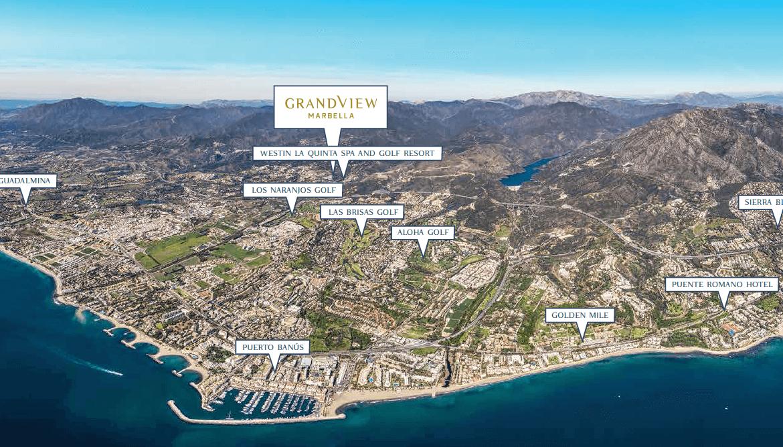 grand view marbella la quinta golf nueva andalucia spanje costa del sol nieuwbouw exclusief luxe ligging