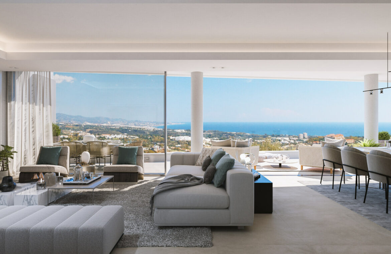 grand view marbella la quinta golf nueva andalucia spanje costa del sol nieuwbouw exclusief luxe living