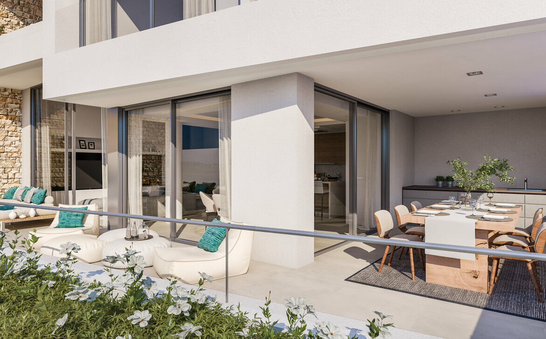 grand view marbella la quinta golf nueva andalucia spanje costa del sol nieuwbouw exclusief luxe terras