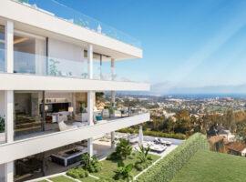 grand view marbella la quinta golf nueva andalucia spanje costa del sol nieuwbouw exclusief luxe uitzicht