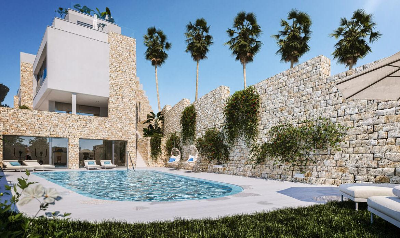 grand view marbella la quinta golf nueva andalucia spanje costa del sol nieuwbouw exclusief luxe zwembad