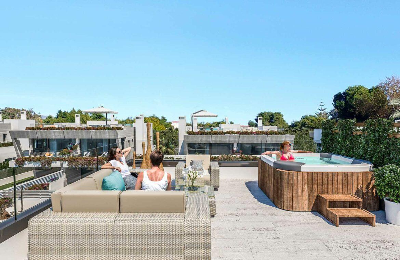 banus bay nieuwbouw marbella puerto banus costa del sol spanje solarium