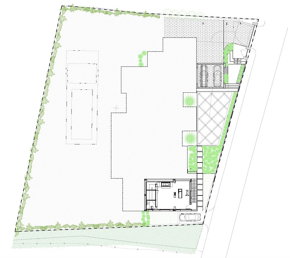 casa chequers el paraiso estate villaroel modern klassiek villa costa del sol spanje grondplan kelder