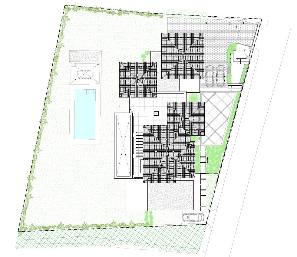 casa chequers el paraiso estate villaroel modern klassiek villa costa del sol spanje grondplan solarium