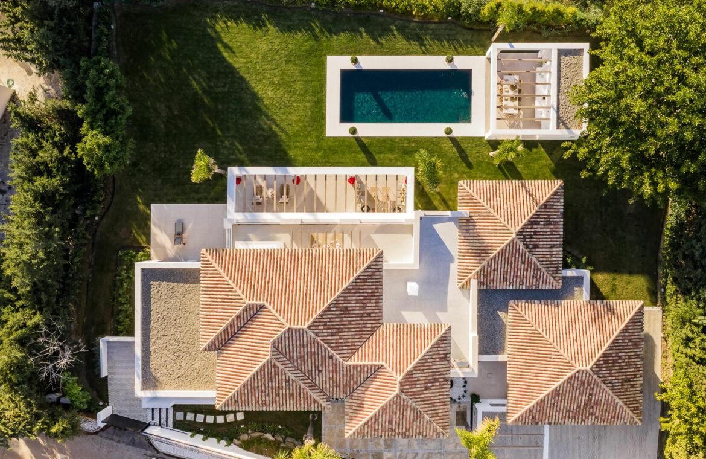 casa chequers el paraiso estate villaroel modern klassiek villa costa del sol spanje sky